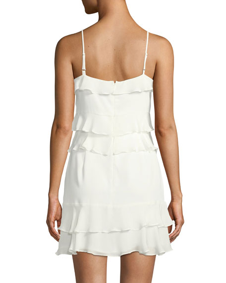 Kristie Sleeveless Tiered Mini Dress