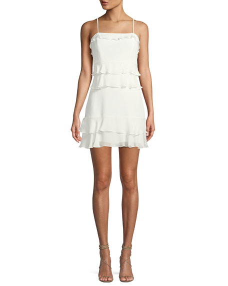 Kristie Sleeveless Tiered Mini Dress by Parker