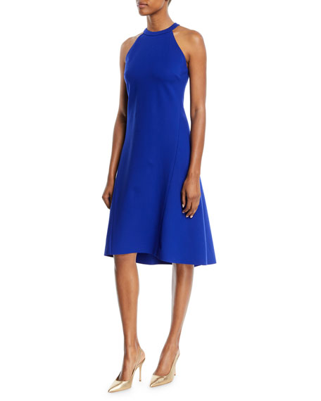 Mellie Halter-Neck A-Line Dress