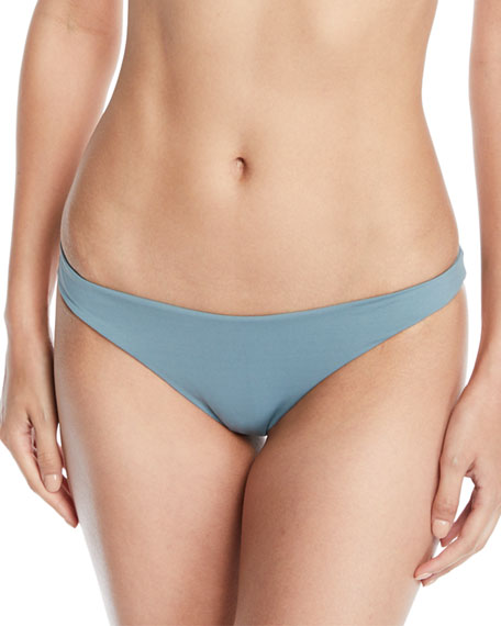 Newport Minimal-Coverage Solid Swim Bikini Bottom