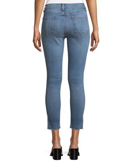 Image 2 of 3: High-Rise Ankle Skinny Jeans