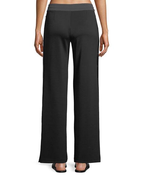 Vista Straight-Leg Drawstring Track Pants
