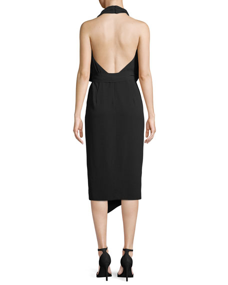 Lorena Halter Midi Dress