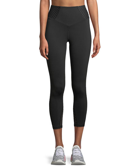 Michi Attitude High-Waist Cropped Performance Leggings
