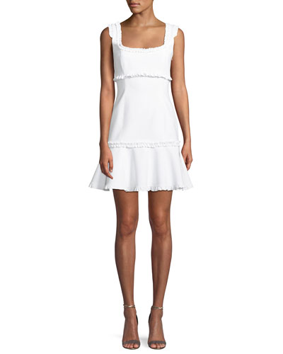 Ana Sleeveless Ruffle Mini Dress