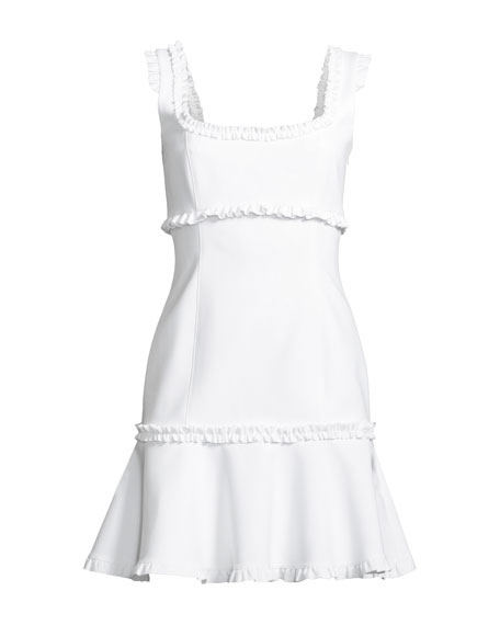 Ana Sleeveless Ruffle Mini Dress