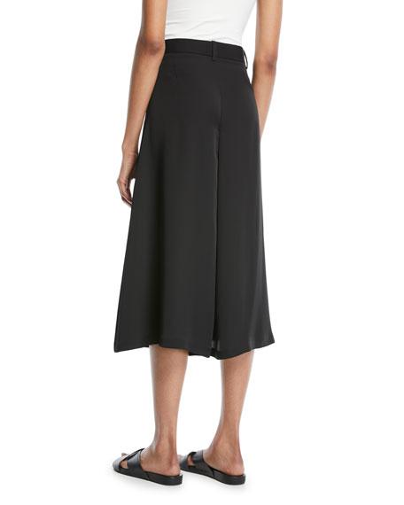 Modern Silk Georgette Skirt Trouser