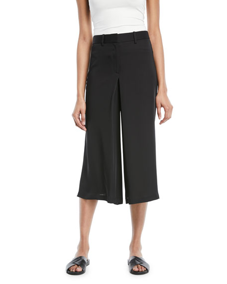 Theory Modern Silk Georgette Skirt Trouser
