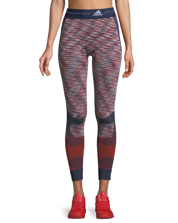 12cd7f4e7f5 adidas by Stella McCartney Seamless Space-Dye Yoga Tights