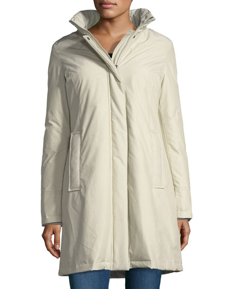 Woolrich Bow Bridge Hooded Tech-Fabric Jacket