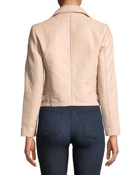 Etty Leather Biker Jacket