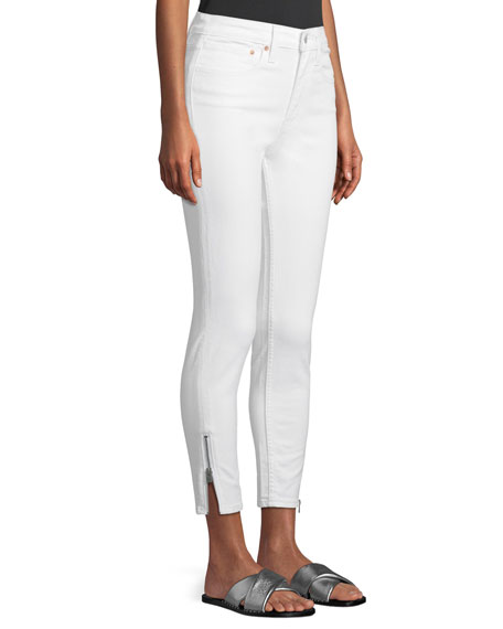 721 Altered High-Rise Side-Zip Skinny Jeans