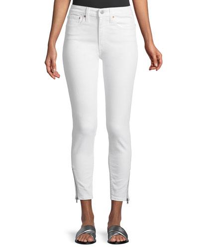 721 Altered High-Rise Side-Zip Skinny-Leg Jeans