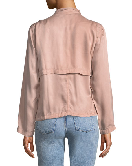 Rowen Button-Front Utility Jacket