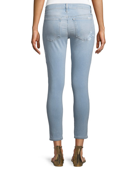 Icon Mid-Rise Skinny Cropped Jeans