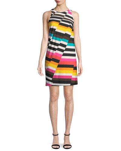 Macee Canyon Stripe Mini Dress
