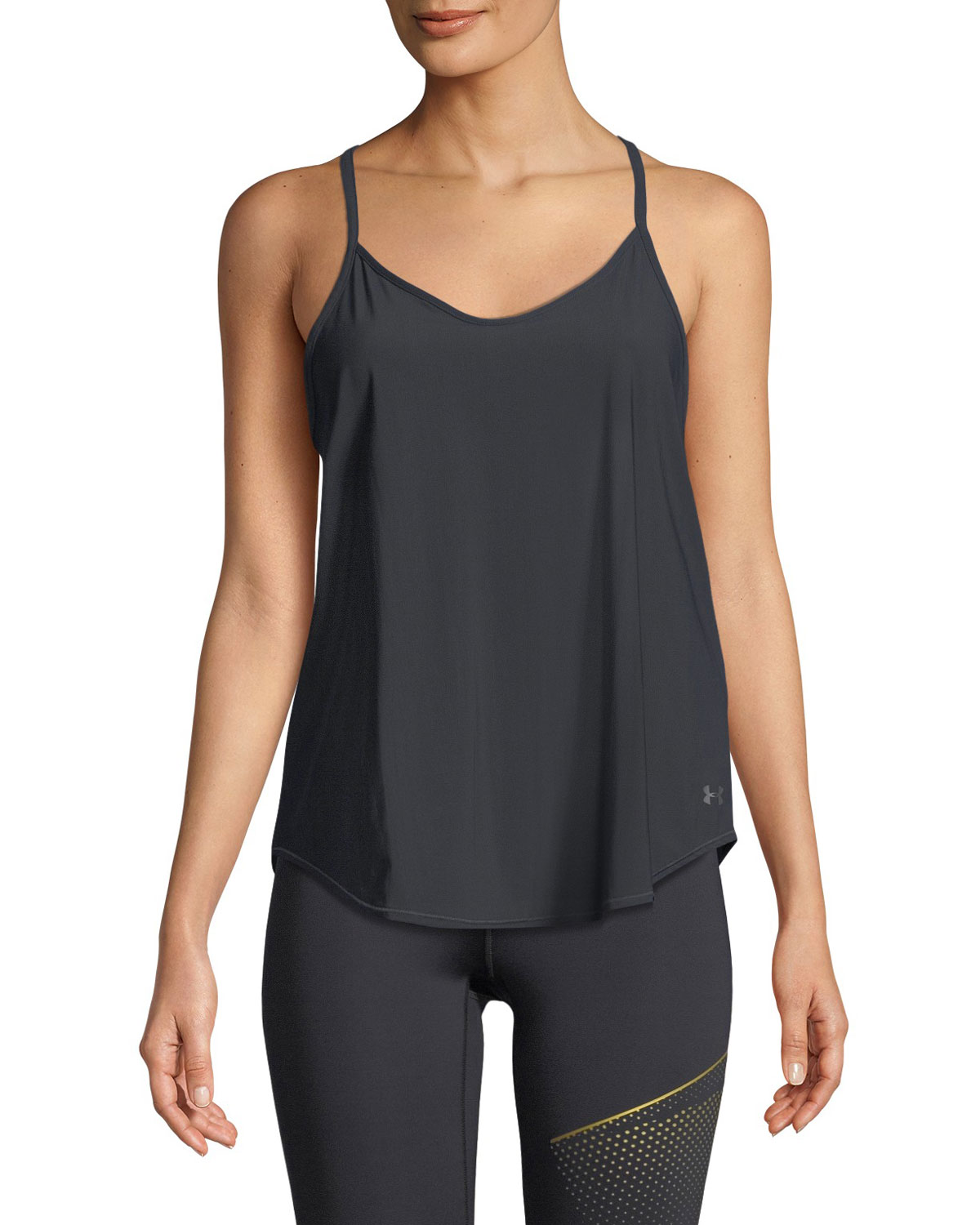 68d257638fe Under Armour Free Cut Strappy Keyhole Tank Top
