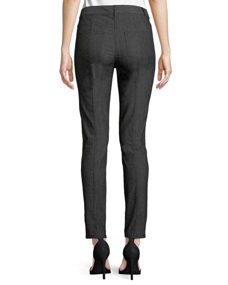 Bardot Slim-Fit Front-Slit Jeans