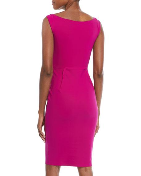 Quique V-Neck Sheath Dress