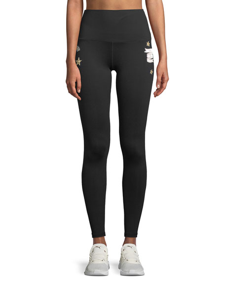 Patch Party High-Waist Yoga Pants
