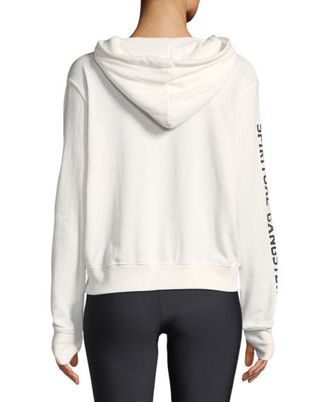 Sundown Hooded Varsity Graphic Pullover