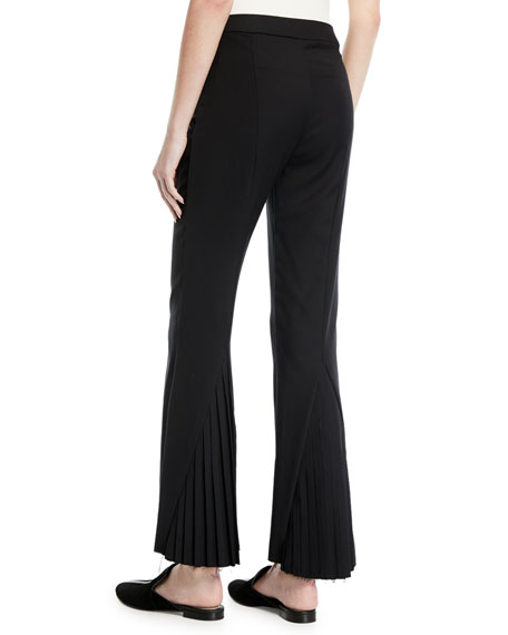 Maggie Marilyn Kick Up Your Heels Pleated Flare-Leg Pants