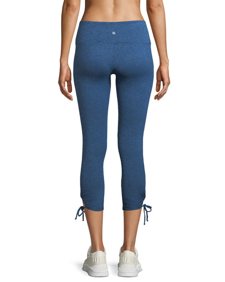 Foster Side-Tie Capri Leggings