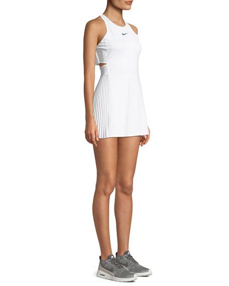 Maria Pleated Cutout Tennis Dress