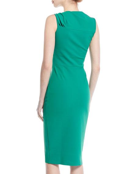 Hena Asymmetric Sheath Dress