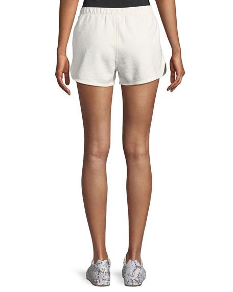 Rocky Raw-Edge Cotton Shorts