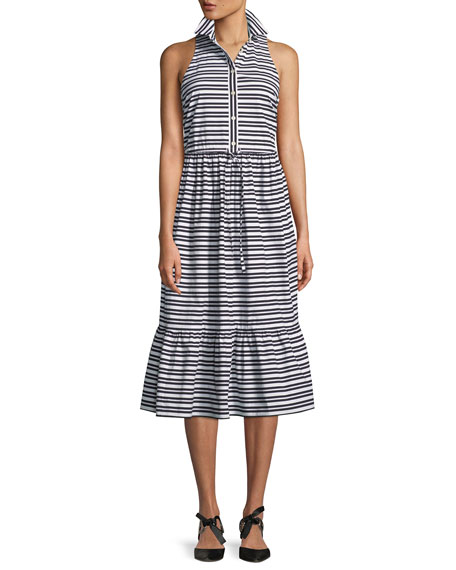 kate spade new york candy stripe sleeveless shirt