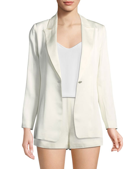 Image 2 of 3: Blac One-Button Blazer