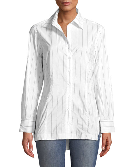 Joey Tech Pinstriped Shirt
