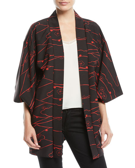 Elizabeth and James Vintage One-of-a-Kind Kimono