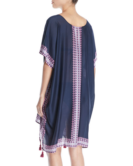 Moonflower Printed Coverup Kaftan