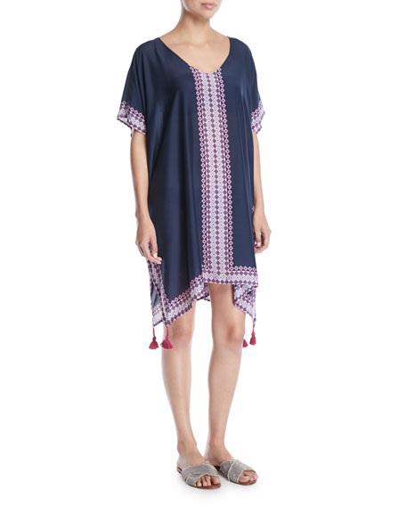 Moonflower Printed Coverup Kaftan by Seafolly