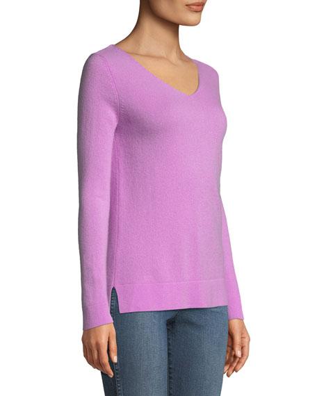 Cashmere Modern V-Neck Sweater