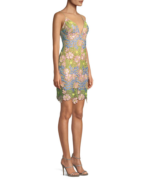 Floral Sleeveless Mini Dress