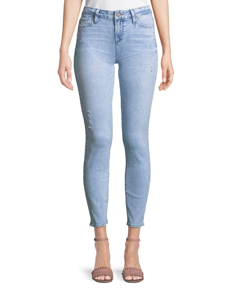 PAIGE Verdugo Ankle Skinny Jeans