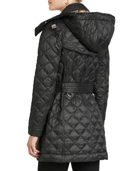 Baughton Belted Quilted Parka Jacket