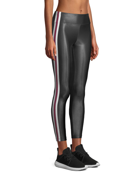 Trainer High-Rise Side-Stripe Leggings