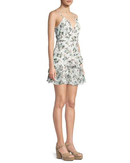 La Maison Talulah Reminisce Floral Sleeveless Mini Dress