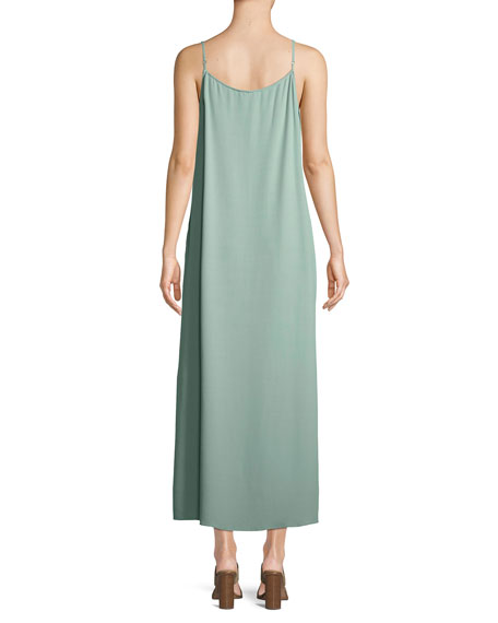 Solid Knit Slip Dress, Plus Size