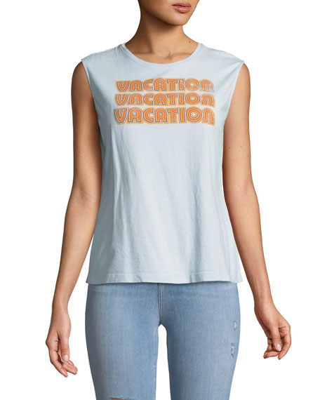 Vacation Statement Muscle Tank