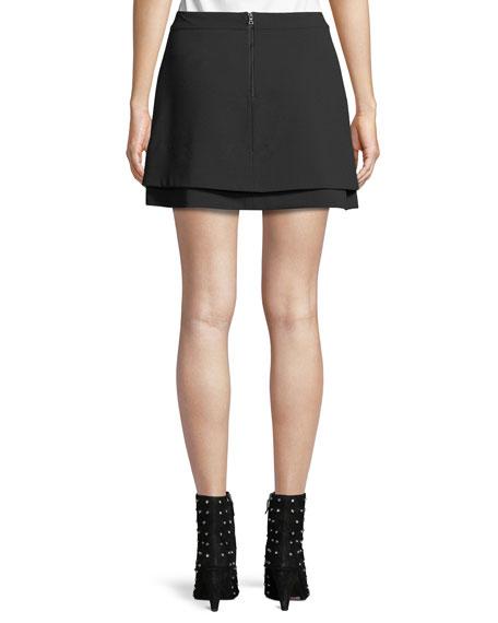 Nicolina Layered Tulip Mini Skirt
