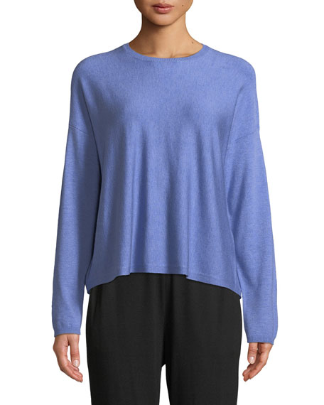 Lightweight Cozy Box Top, Plus Size