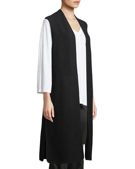 Lightweight Boiled Wool Vest