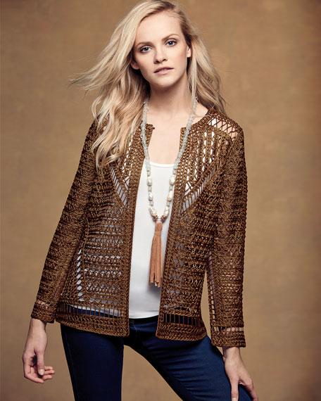 Crochet Topper Jacket