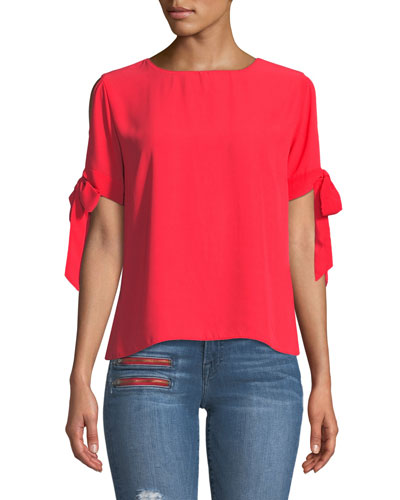 Mona Cold-Shoulder Top