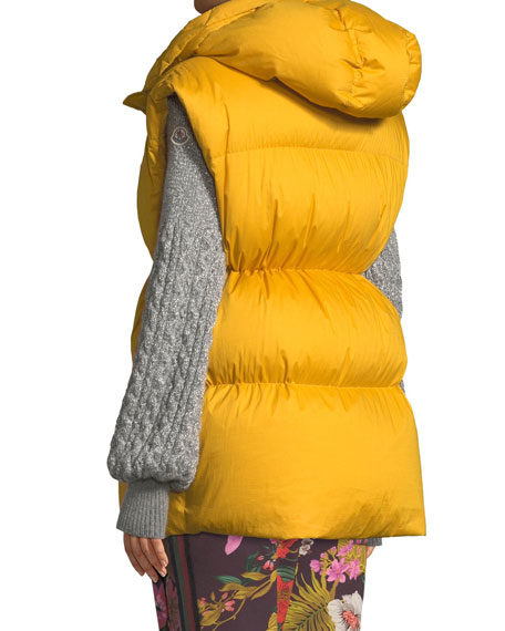 Cheveche Puffer Vest w/ Hood